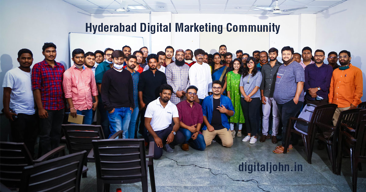 digital marketing community in Hyderabad